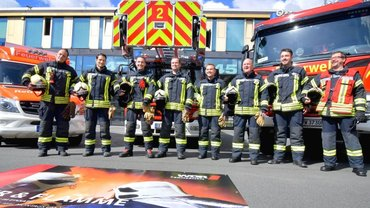 Mit der Feuerwehr fünf Monate im Einsatz in Gelsenkirchen