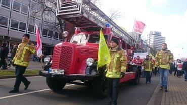 ver.di Streik Hannover