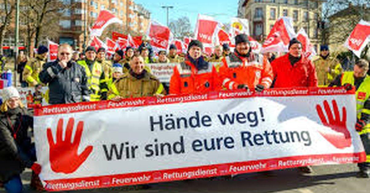 Verdi Feuerwehr Nrw
